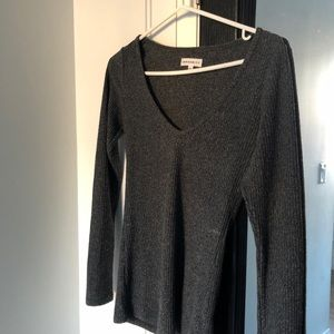 Aritzia community v neck sweater